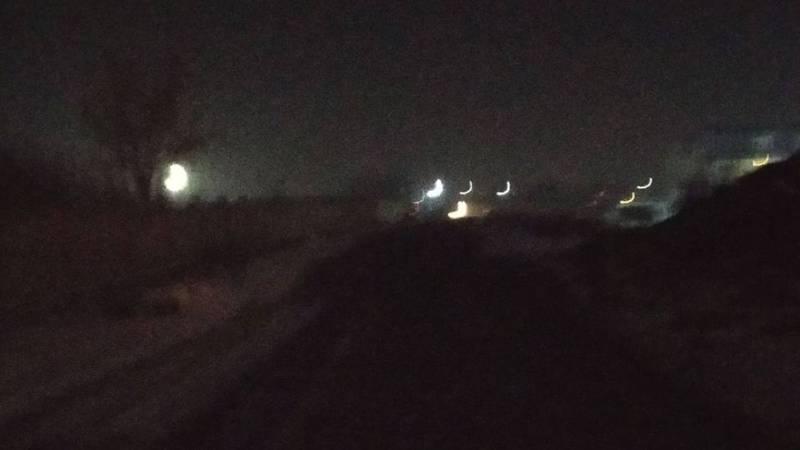 Когда будет запущена система освещения на улице Абаканской?