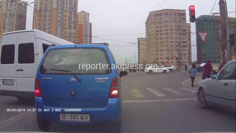 На водителя маршрутки №107 нарушившего ПДД составлен протокол, - ГУОБДД