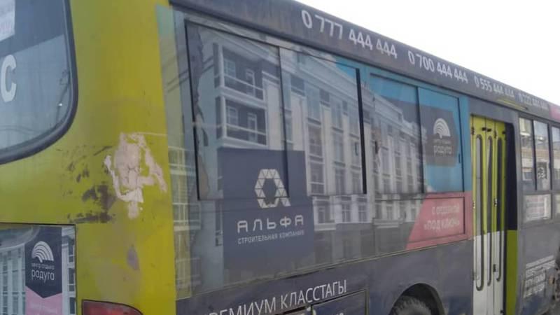 Горожанин: Реклама на автобусах мешает обзору