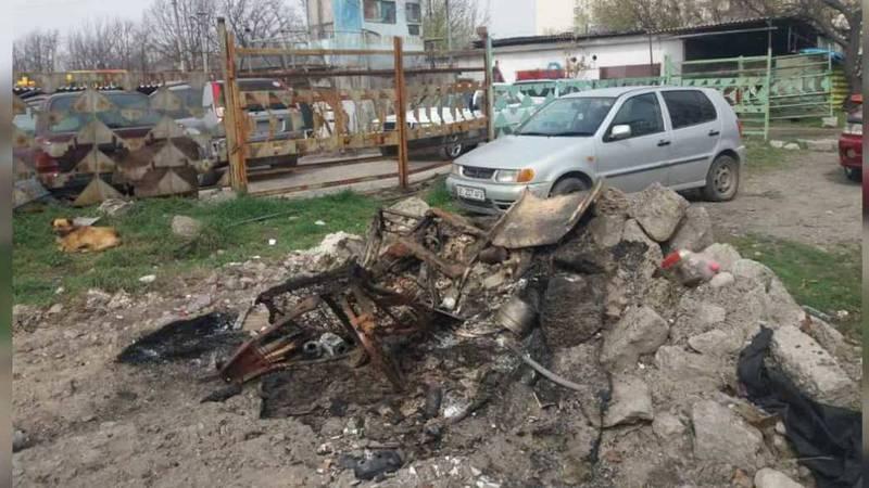 Людей, которые сжигали шины на улице напротив ТЭЦ, не нашли