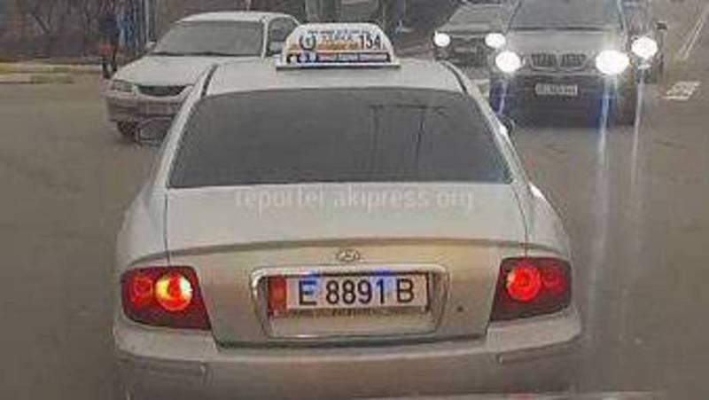 На Юнусалиева-Ахунбаева водитель «Хендэ» выехал на встречную полосу, - очевидец (видео)