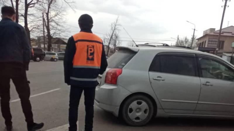 Законно ли работает платная парковка на Чуй-Рыскулова?
