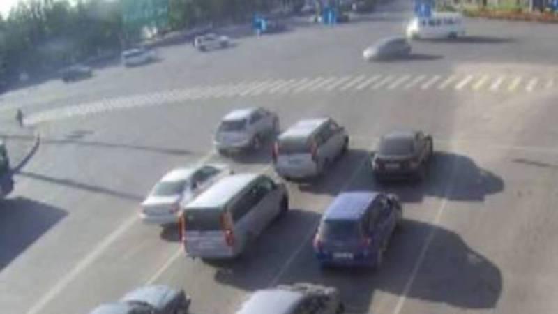 Бишкекчанин интересуется, почему штрафуют за несуществующий дорожный знак?