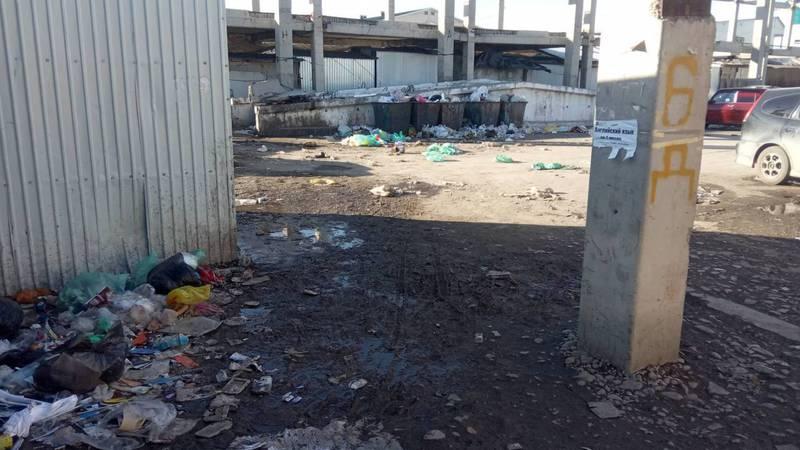 Житель просит привести в порядок центральный рынок в Токмоке