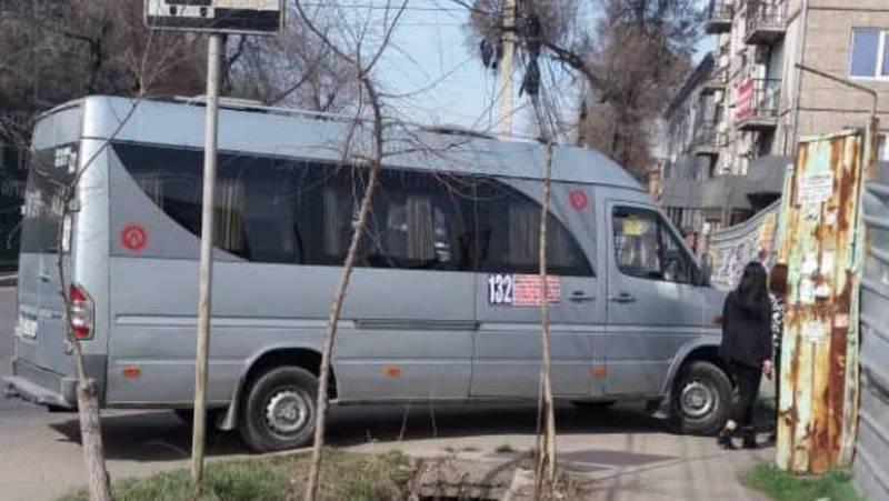 На ул.Жукеева-Пудовкина «Спринтер» припарковали на тротуаре. Фото