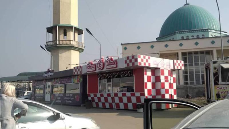 Будут ли демонтированы незаконно установленные павильоны фастфуда на ул.Ахунбаева?