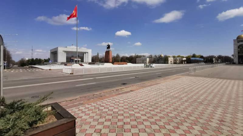 Фото, видео: Бишкек во время карантина