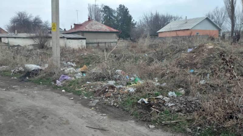 В Кара-Балте участок возле детсада «Подснежник» превратился в свалку, - жительница