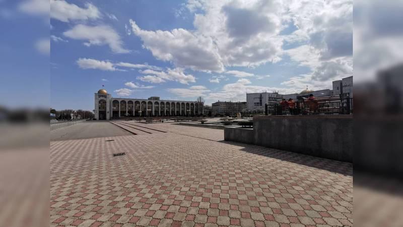 Бишкек во время карантина - 27 марта. Фото и видео жителей города